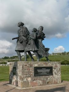 Emigrants Statue