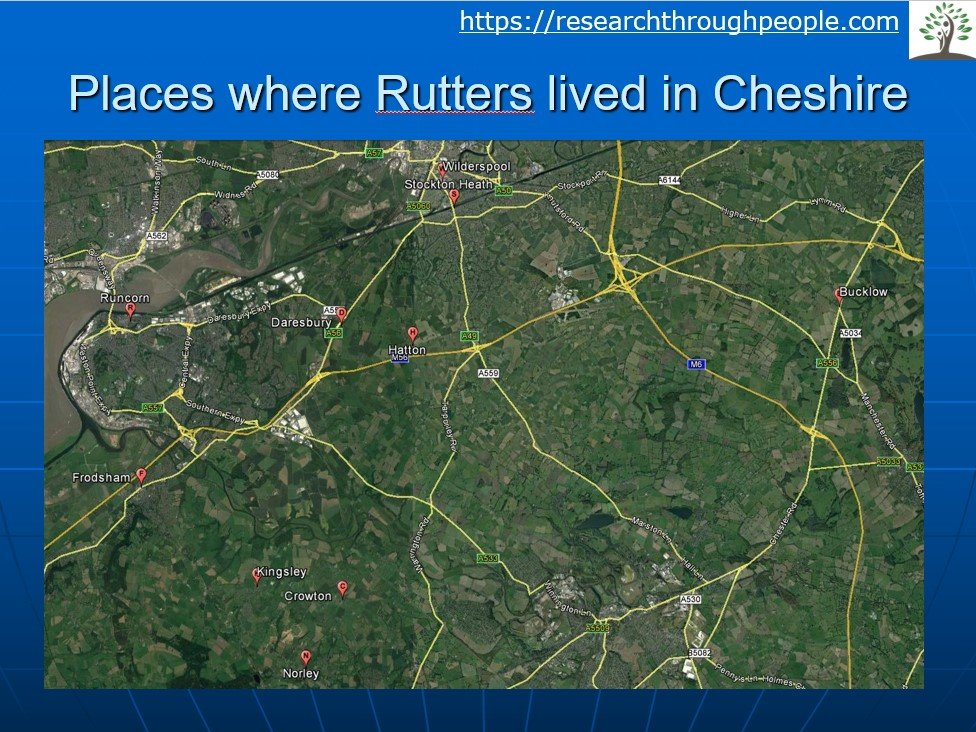 Rutters family history
