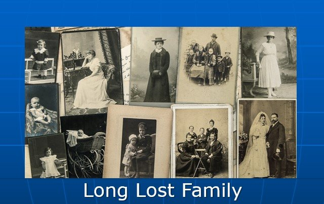 family ancestry search