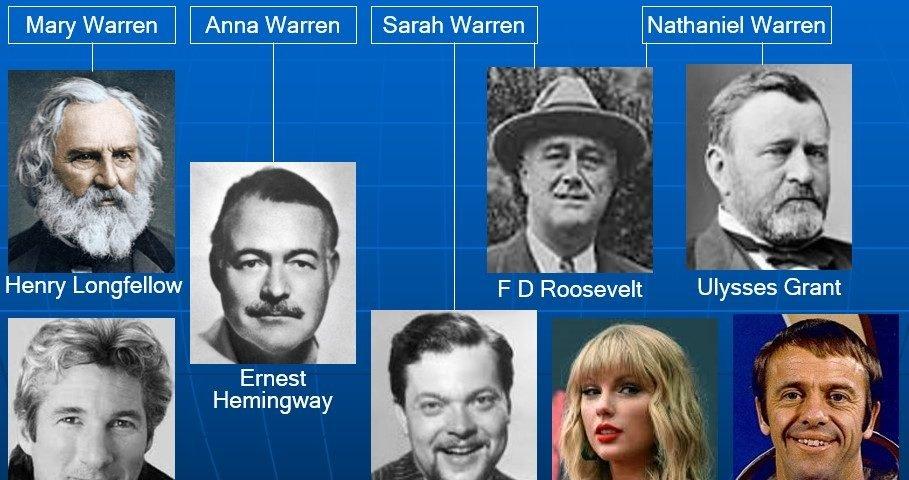 Swift cousins Warren
