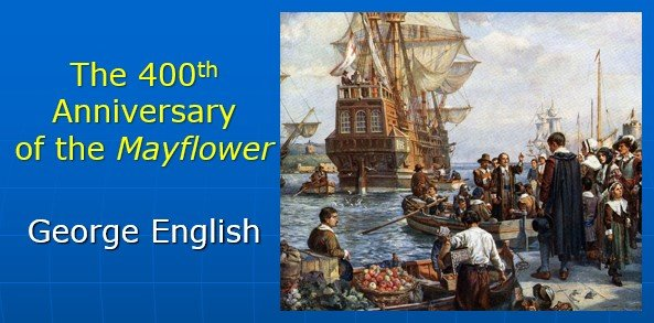 400th anniversary Mayflower talkTitle